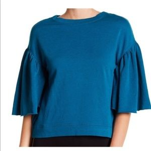 NEW Abound Flutter Sleeve Crop Sweater
